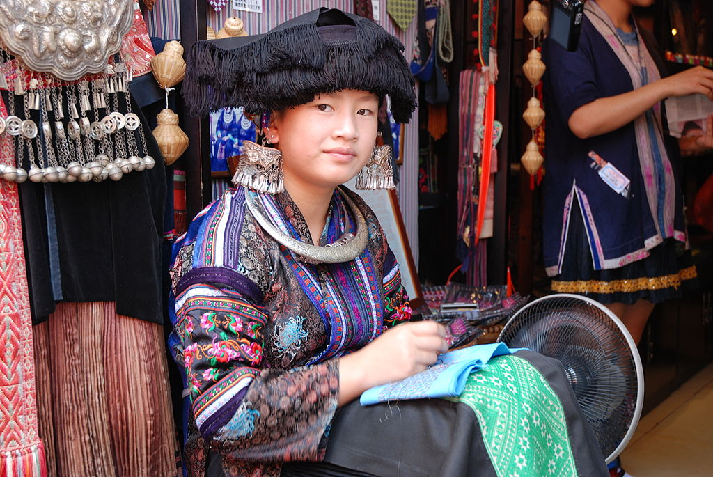 Tales Told by Embroidery: The Woven Heritage of China's ... Miao People Art