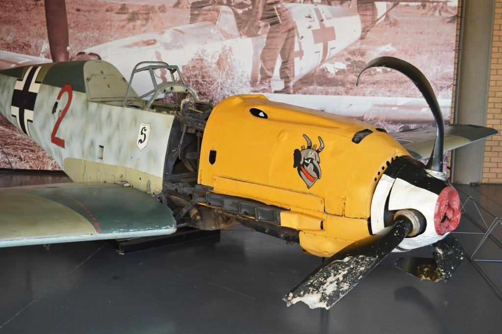 A Messerschmitt Bf 109 on display | © Alan Wilson/Flickr