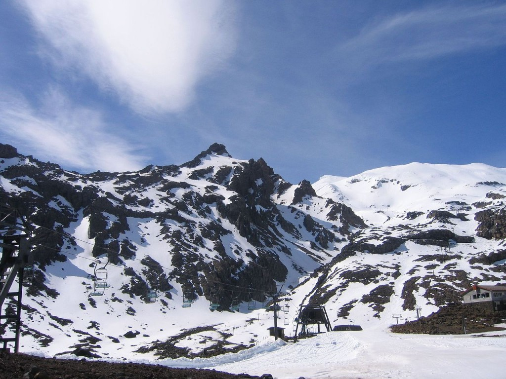 Mt Ruapehu | © Sids1/Wikimedia Commons