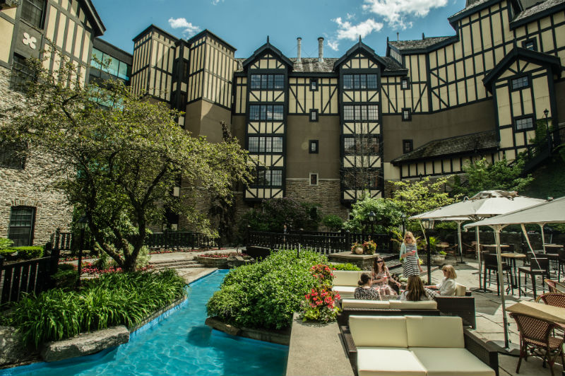 Patio at the Old Mill | © The Old Mill Toronto