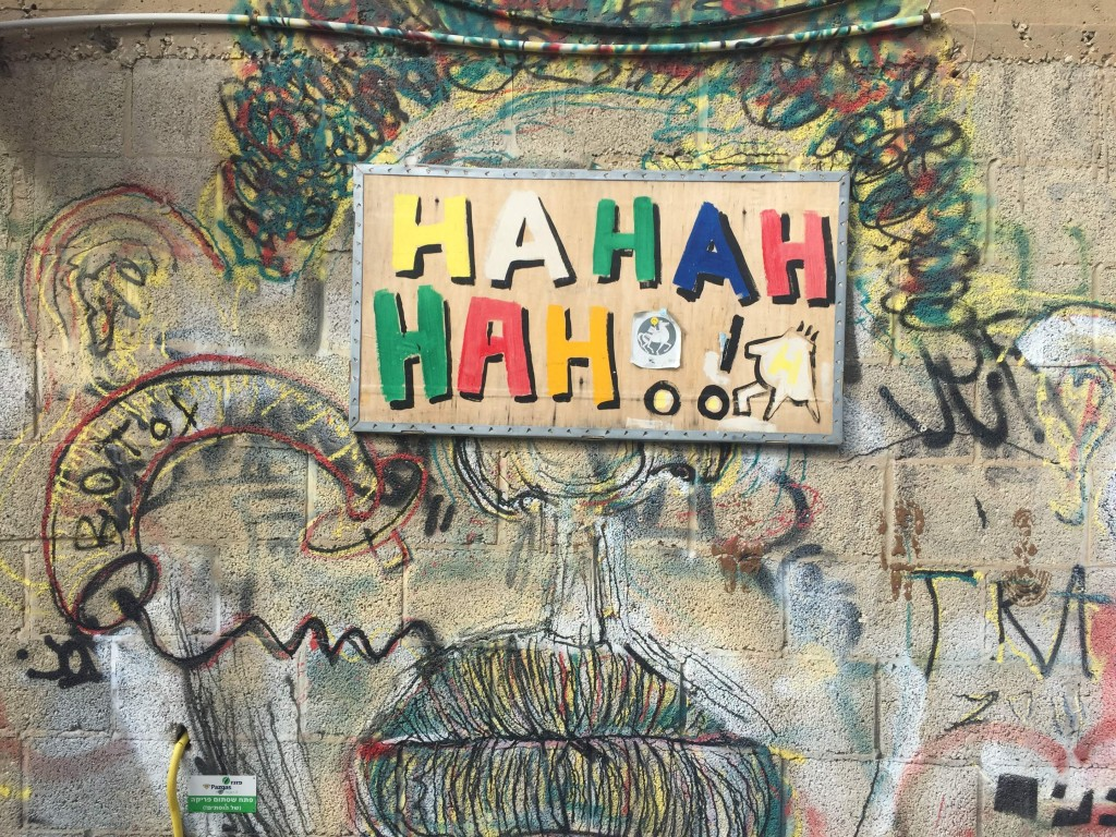 Street art in Tel Aviv reminds us to laugh   © Ben Jakob