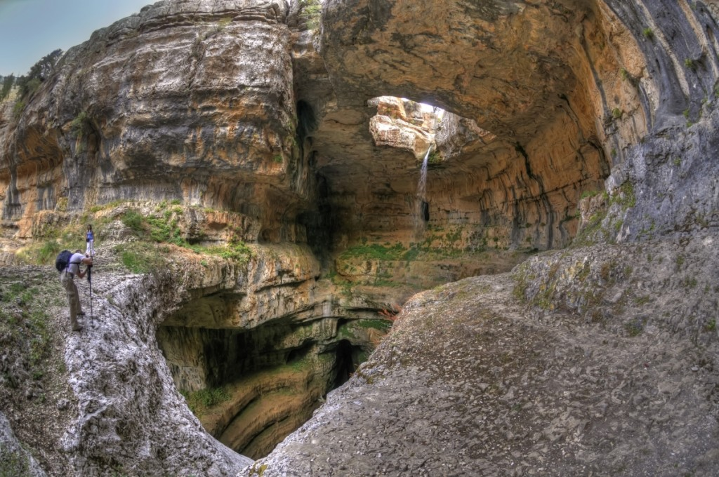 Baatara Gorge Waterfall, Tannourine © Serge Melki / Wikimedia Commons