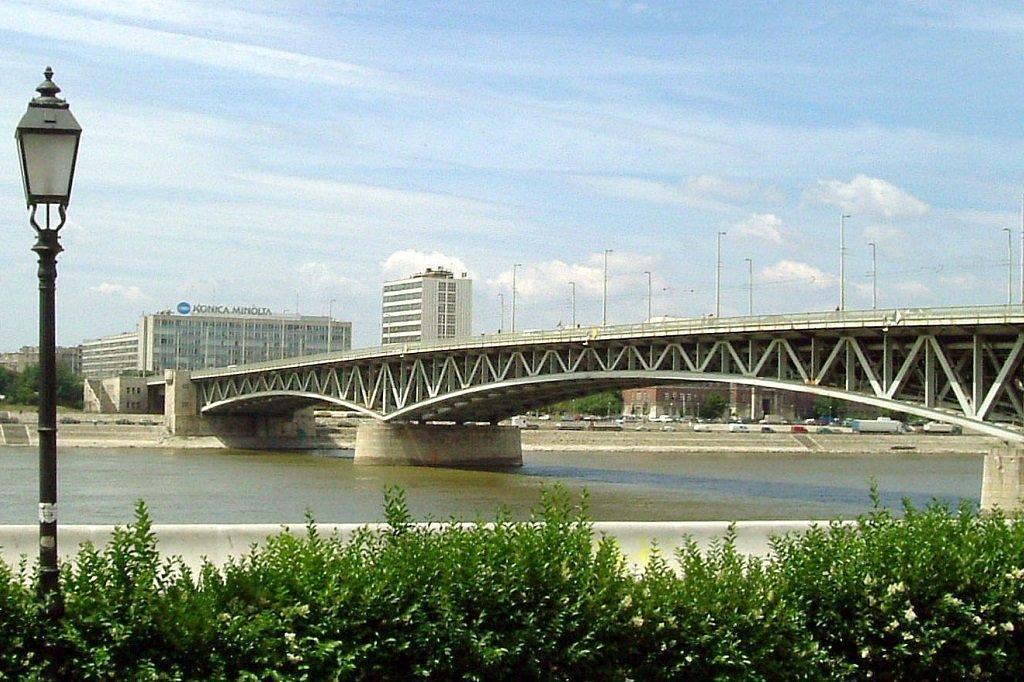 Petofi Bridge Budapest