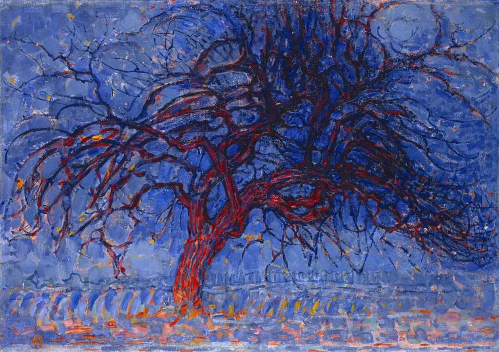 Piet_Mondrian,_1908-10,_Evening;_Red_Tree_(Avond;_De_rode_boom),_oil_on_canvas,_70_x_99_cm,_Gemeentemuseum_Den_Haag