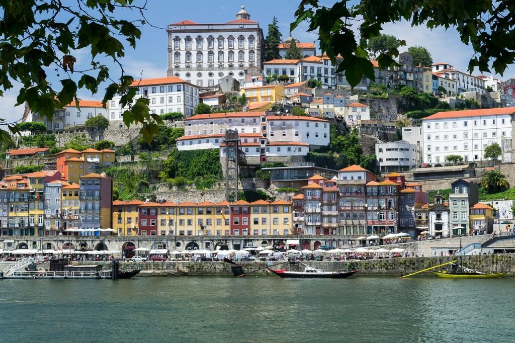 Porto's Ribeira © Pixabay