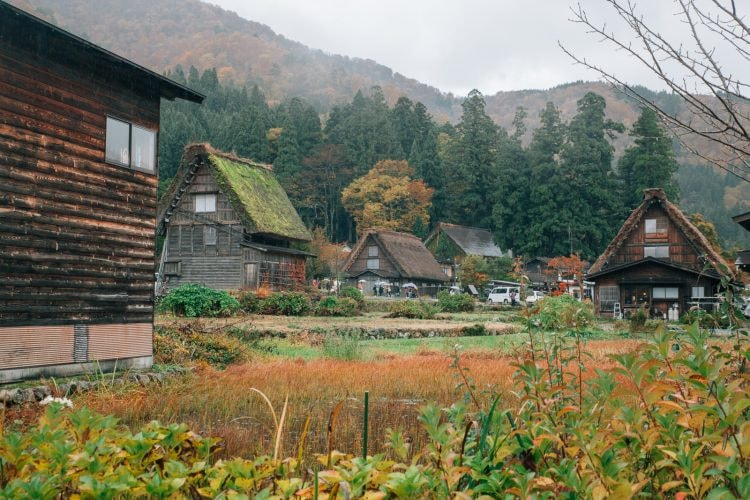 Shirakawago Village, Gokayama, Japan