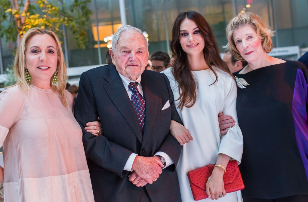 Reflections On New York Billionaire David Rockefeller Sr