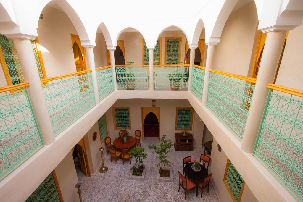 Inside a modern Moroccan riad | © Simo Manfalouti / Flickr
