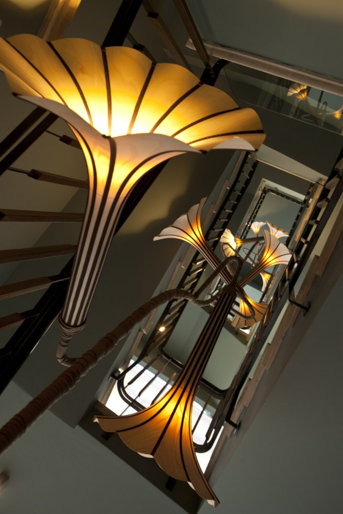 Funky stairs inside The Rothschild Hotel in Tel Aviv | The Rothschild Hotel ©, courtesy PR