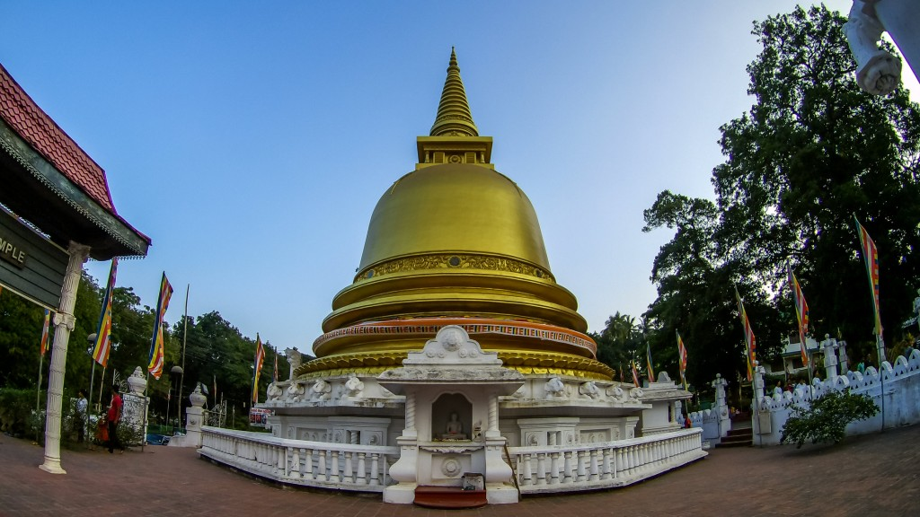 A Pagoda at the Golden Temple of Dambulla |©Dinu Perera