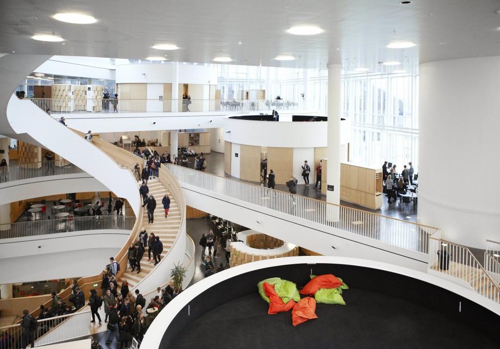 Ørestad Gymnasium | © Ørestad Gymnasium
