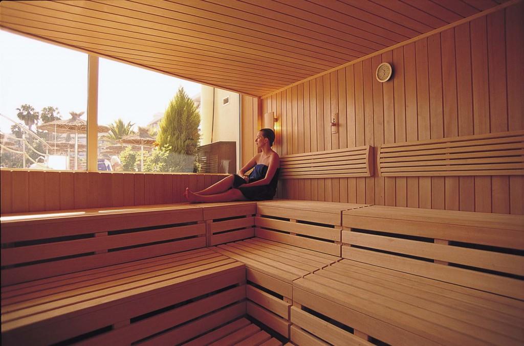 Relax in a sauna
