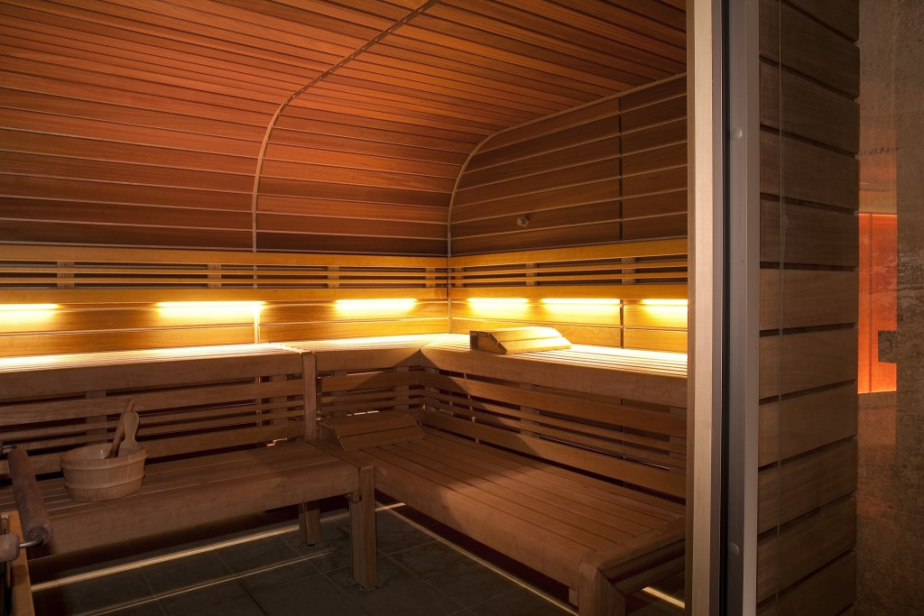 Sauna at Klay │ Courtesy of Klay