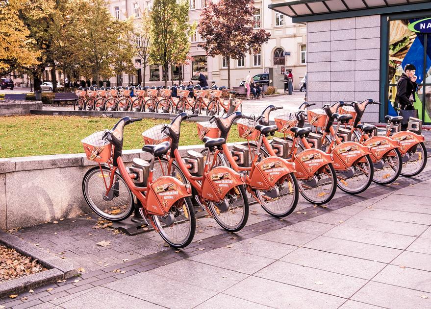 Cyclo City Vilnius | ©Sergey Galyonkin/Wikimedia Commons