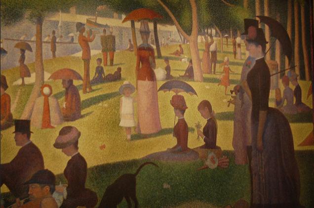 Sunday Afternoon on the Island of La Grande Jatte Georges Seurat, 1884-1886 @karly/Flickr