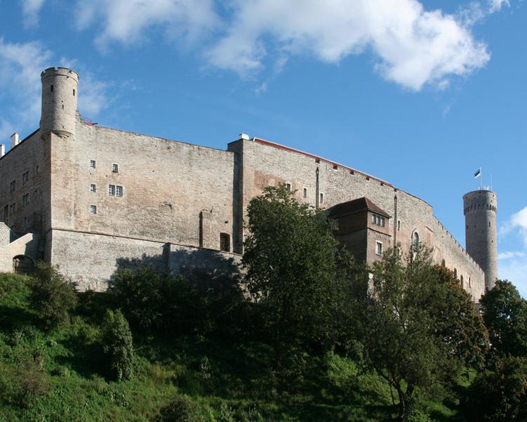 Toompea Castle |©Terker/Wikimedia Commons
