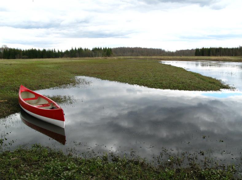 Annual flooding at Soomaa | ©Joonas Plaan/Wikimedia Commons