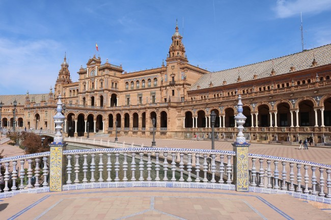Seville´s Plaza de España; pixabay