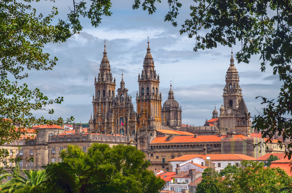The cathedral in Santiago de Compostela, Spain | © Sergey Golotvin/Shutterstock