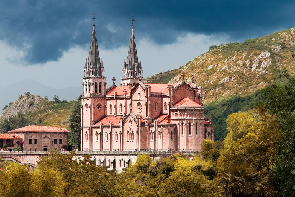 Basílica de Santa María la Real de Covadonga , Asturias, Spain | © Migel/Shutterstock
