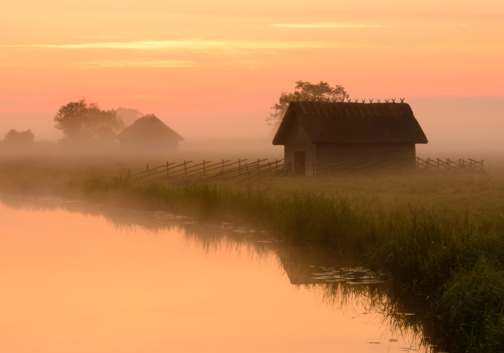 At sunset| ©UrmasHaljaste/Shutterstock