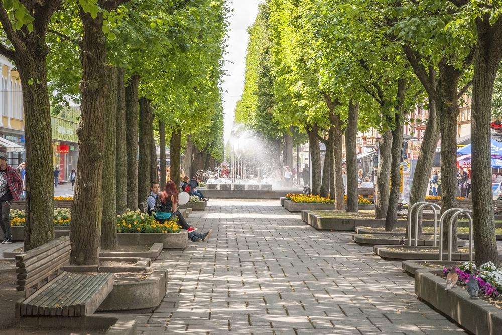 Laisves Avenue | ©dinozzaver / Shutterstock.com