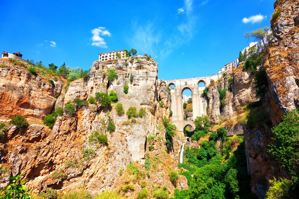 The gorge in Ronda, Spain | © Shchipkova Elena/Shutterstock