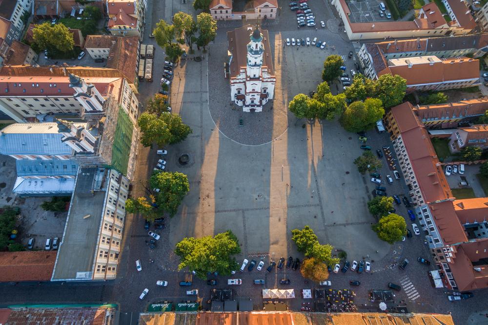 Kaunas Town Hall Square | ©A. Aleksandravicius/Shutterstock