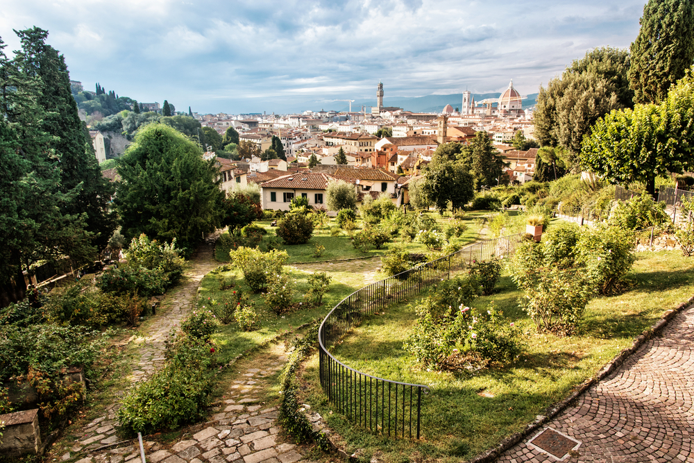 View from Giardino delle Rose to the city of Florence | © PeterVrabel/Shutterstock