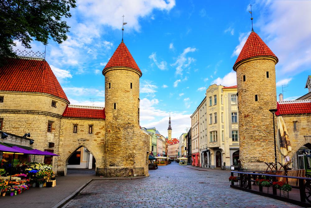 Viru Gates in Tallinn|©Boris Stroujko
