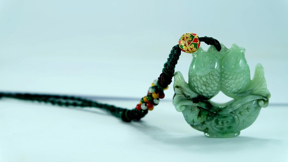 A jade fish pendant | Shutterstock