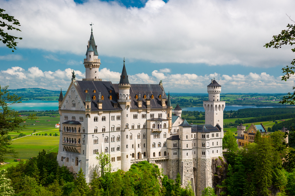 19th Century Neuschwanstein Castle |© Yury Dmitrienko / Shutterstock