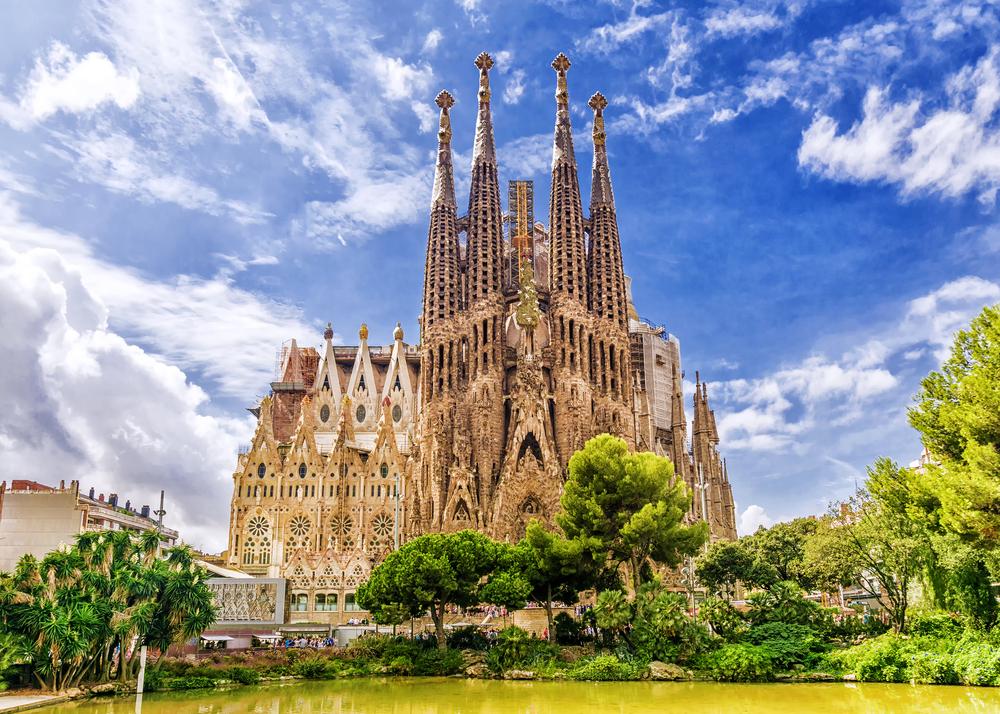 The Sagrada Familia in Barcelona, Spain | © dimbar76/Shutterstock