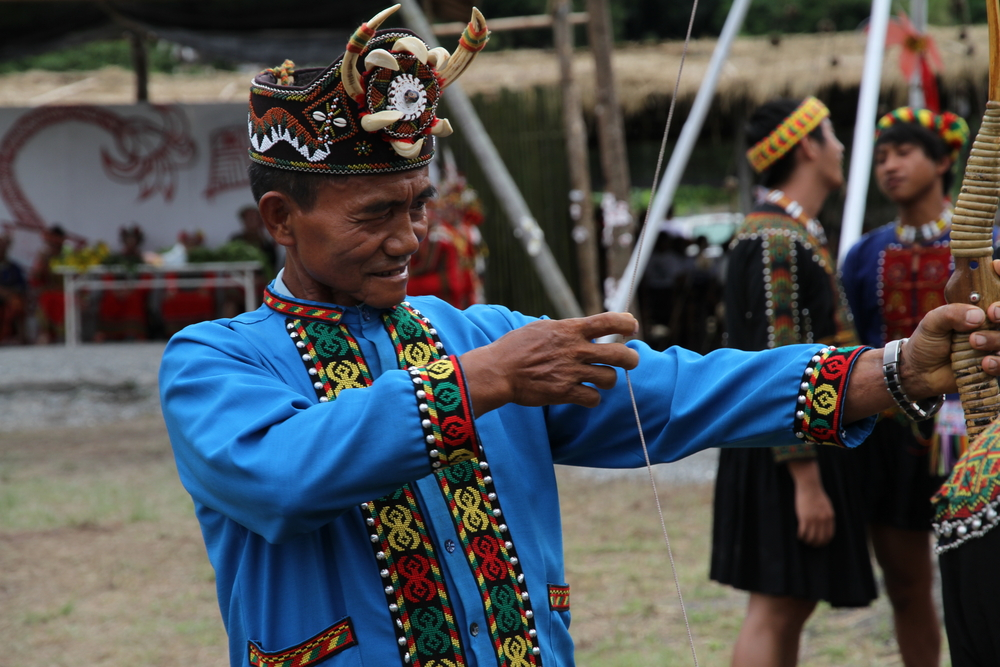 Rukai man during Harvest Festival   © Dagobah Pictures / Shutterstock