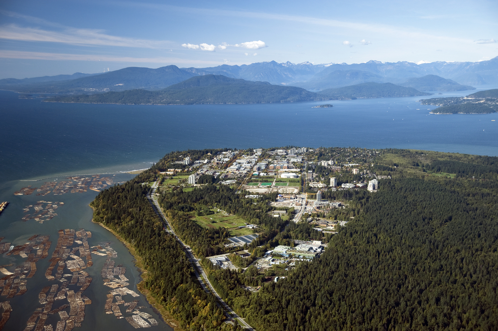 Bird's eye view of the University of British Columbia | © Josef Hanus / Shutterstock