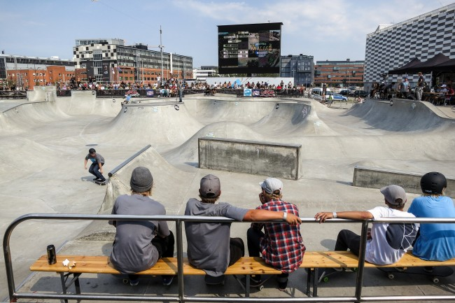 Malmö skateboarding