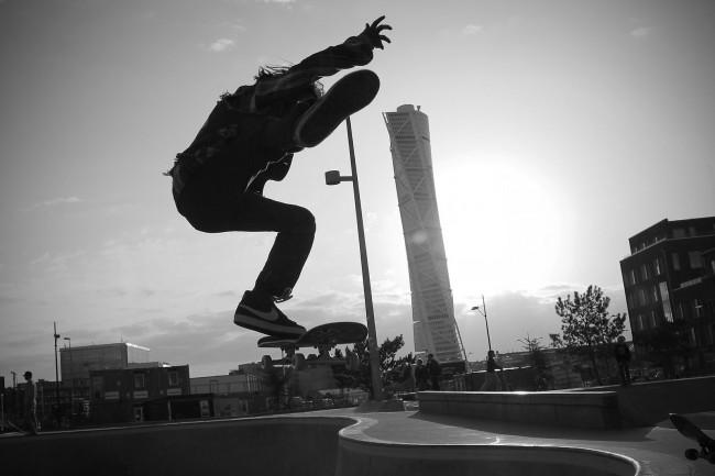 Skateboarding Malmö