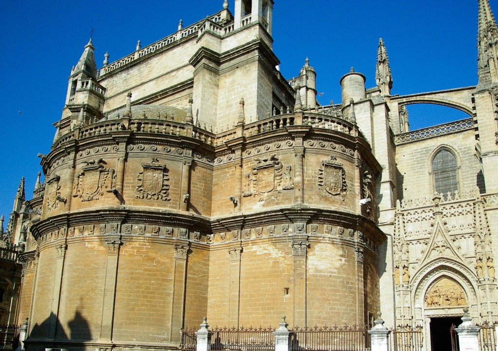 Seville´s Gothic cathedral is the largest in the world; pixabay
