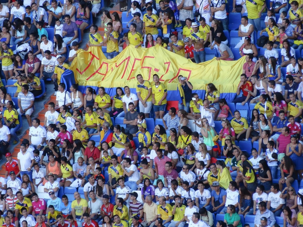 Colombian Fans Watching Their Team © Donations_are_appreciated / Pixabay