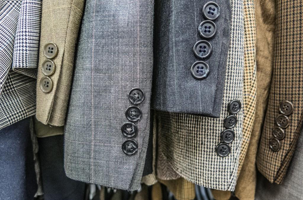 Suit jacket sleeves   © Robert Couse-Baker/ Flickr