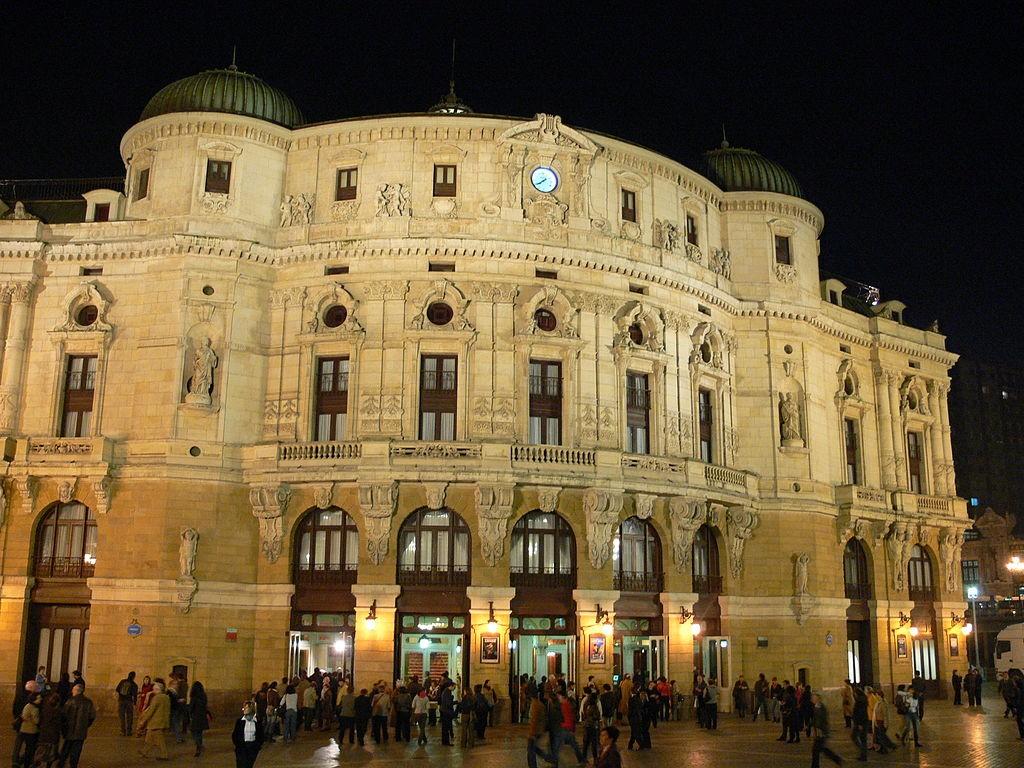 Teatro Arriaga Bilbao | ©Andreas Praefcke / Wikimedia Commons