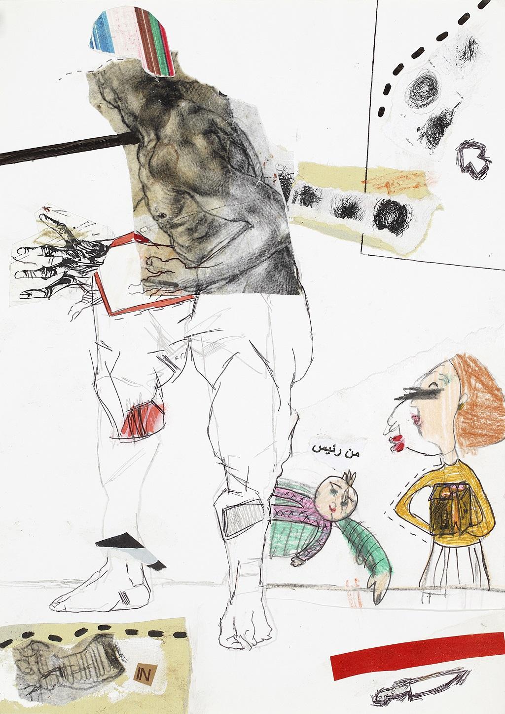 Thameur Mejri, Untitled, 2014, ELMARSA Gallery │© Thameur Mejri, ELMARSA Gallery, Courtesy of Art Paris Art Fair
