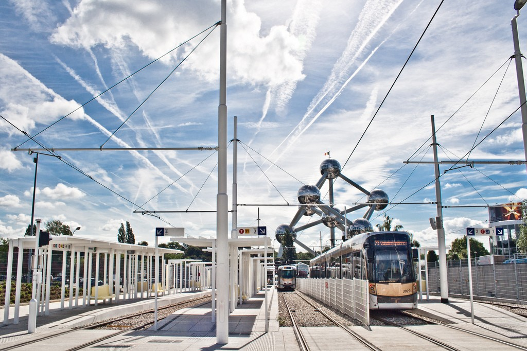 The Atomium's metro station | © Hernán Piñera / Flickr