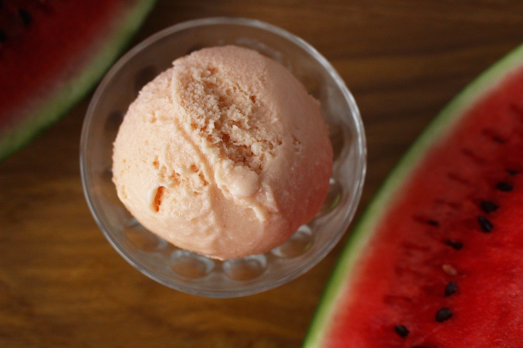 Watermelon ice-cream from The Creamery © Courtesy of The Creamery