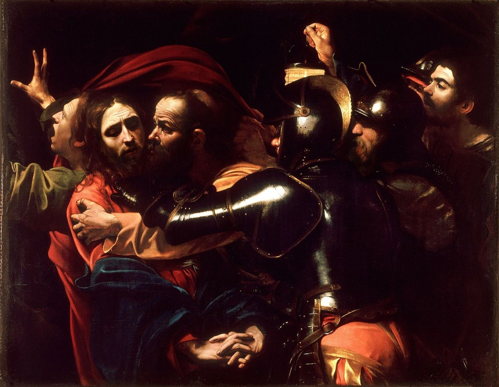 The Taking Of Christ By Caravaggio c.1602   © WikiCommons