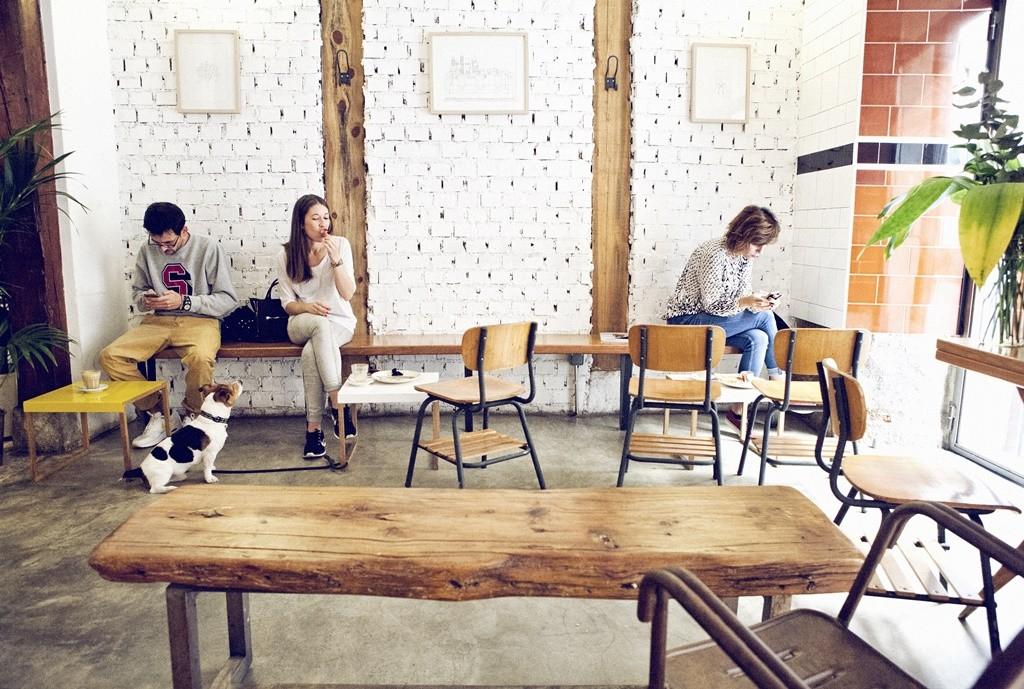 The chill ambiance of Toma Café   © Toma Café