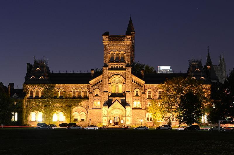 University College at the University of Toronto | © Raysonho / WikiCommons