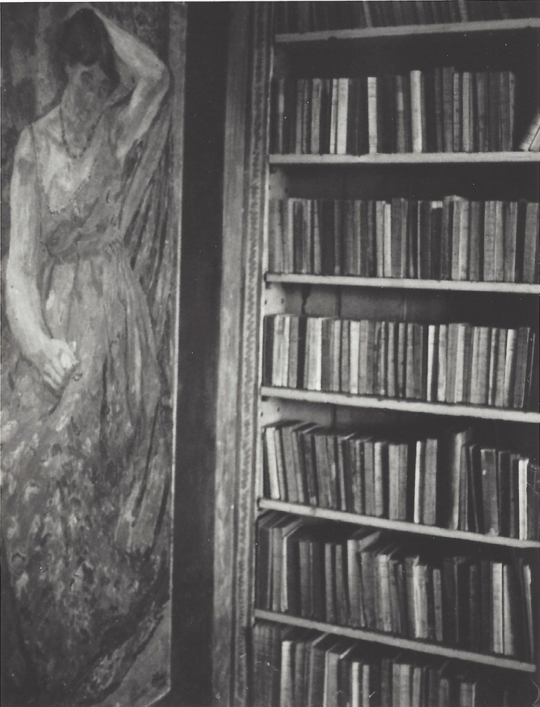Patti Smith, Vanessa Bell's Library, Duncan Grant's painting of Vanessa Bell in her Mother's Dress, 2006 | © Patti Smith. Courtesy the artist and Robert Miller Gallery