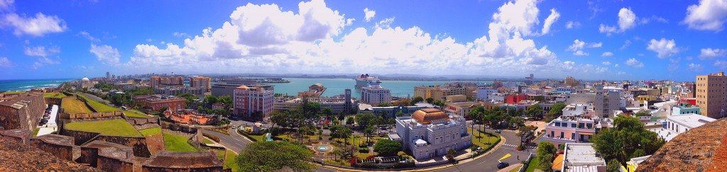 View of San Juan from Fort San Cristobal | © Chad Sparkes/ Flickr