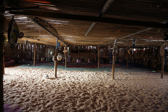 Where Bedouins Hang Out in the Desert, Oman | © Sylwia Pecio
